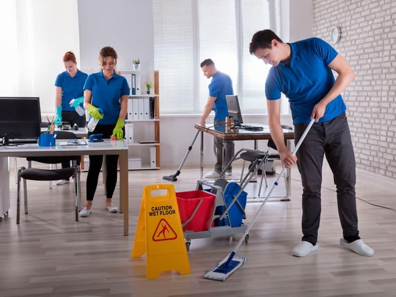 Ménage commercial efficace pour votre entreprise